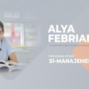 Alya Febriani, alumni SMK Sinar Pancasila Balikpapan, mahasiswa Prodi Manajemen (S1) FEB Universitas Mulia. Foto: Media Kreatif