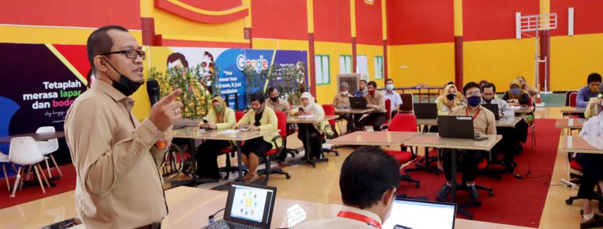 Wisnu Hera Memimpin Workshop Kampus Merdeka Universitas Mulia