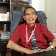 Rektor Universitas Mulia Dr Agung Sakti Pribadi SH MH saat ditemui di ruang kerjanya, Selasa (21/7). Foto: PDSI