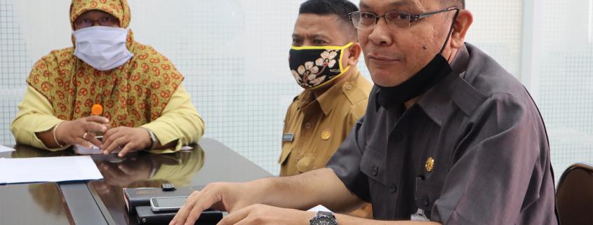 Robi Ruswanto saat berkunjung ke Universitas Mulia