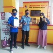 Kabiro STDC, Kerjasama dan Media Kreatif Bapak Yustian Servanda, S.Kom., M.Kom. menerima bantuan kuota dari XL Balikpapan