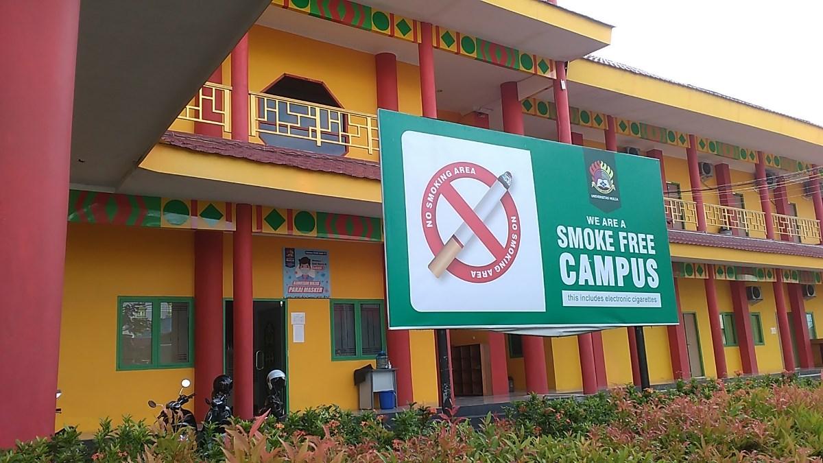Kampus merupakan Kawasan Sehat Tanpa Rokok (KSTR). Foto; SA/PSI
