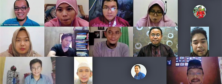 Rapat daring Dosen Fakultas Ilmu Komputer bersama Wakil Rektor Bidang Akademik, Jumat (18/9). Foto: Tangkapan Layar