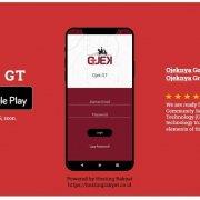 Tampilan Aplikasi Ojek GT
