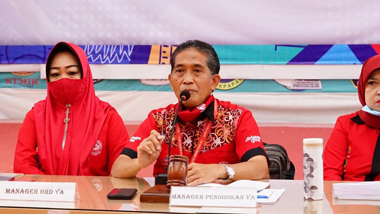 Manager Pendidikan Yayasan Airlangga Dr. Agung Sakti Pribadi, S.H., M.H. Foto: Biro Media Kreatif