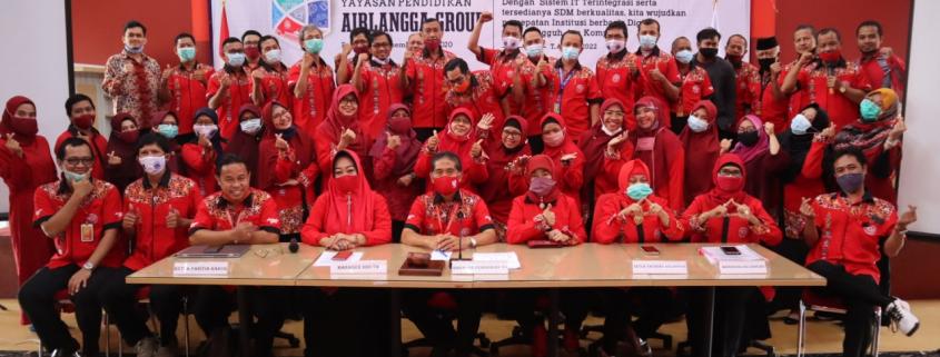 Peserta dari Divisi Pendidikan Tinggi Universitas Mulia. Foto: Biro Media Kreatif