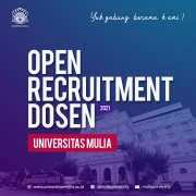 Lecturer Recruitment Mulia University's 2021
