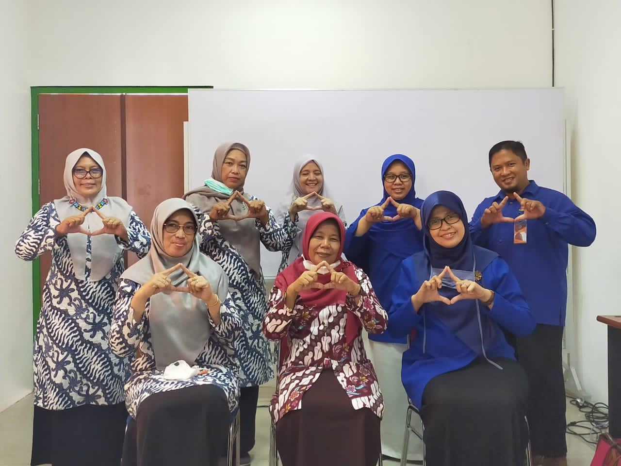 Pengurus Himpunan Pendidik dan Tenaga Kependidikan Anak Usia Dini Indonesia (Himpaudi) Kota Balikpapan melakukan kunjungan ke Kampus Universitas Mulia, Rabu (17/3)