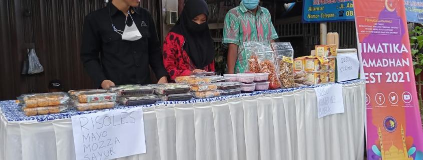 Himpunan Mahasiswa Informatika (Himatika) adakan Ramadhan Fest 2021 di depan Taman Tiga Generasi 19-25 April 2021