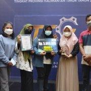 Pada saat pengumuman pemenang, Kamis (17/6) tim Smart Control Listrik berhasil meraih juara pertama dalam kategori pelajar dan mahasiswa.