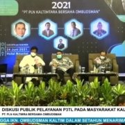 Diskusi Publik Pelayanan P2TL PLN kepada Masyarakat Kaltim tahun 2021. Foto: Tangkapan layar