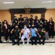 Mahasiswa Ilmu Hukum Kuliah Lapangan di Pengadilan Militer