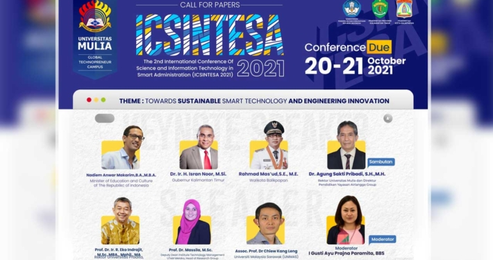 Poster Seminar Internasional ICSINTESA 2021.