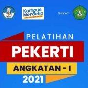 Pelatihan Pekerti angkatan pertama tahun 2021.